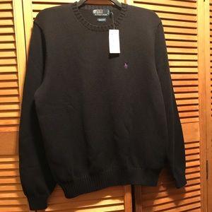 Polo Ralph Lauren Navy Blue Crewneck Sweater